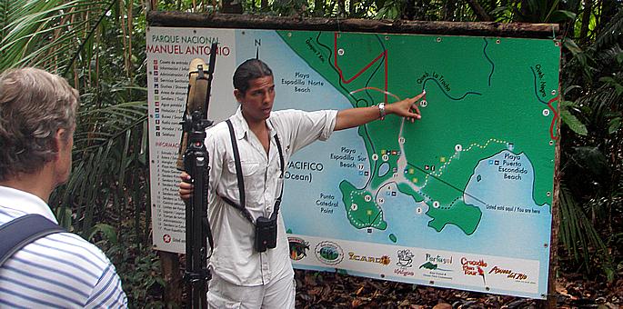 Manuel Antonio Site Seeing Tours